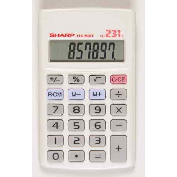 CALCULATOR SHARP EL 231LB