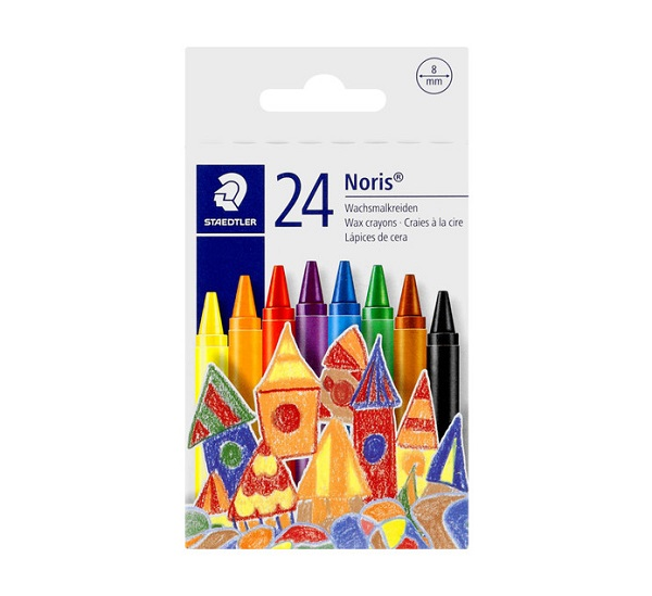 CRAYONS COLOURED 24'S STAEDTLER
