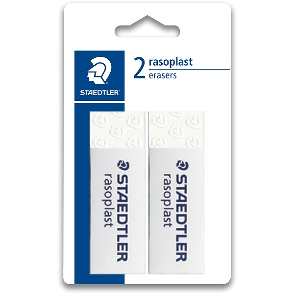 ERASER STAEDTLER -  SET OF 2
