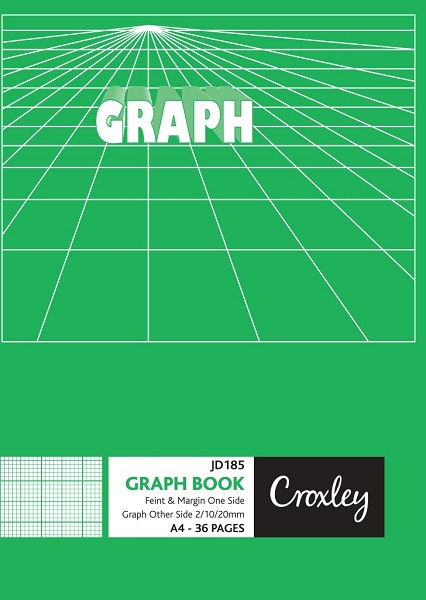GRAPH BOOK , PACK OF 4
