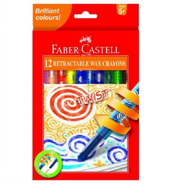 PENCIL CRAYON RETRACT TWIST F/CASTEL A120013 12'S
