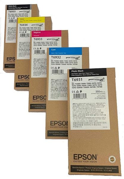 INK CARTRIDGE EPSON SURECOLOR T3000/5000/7000-BLK