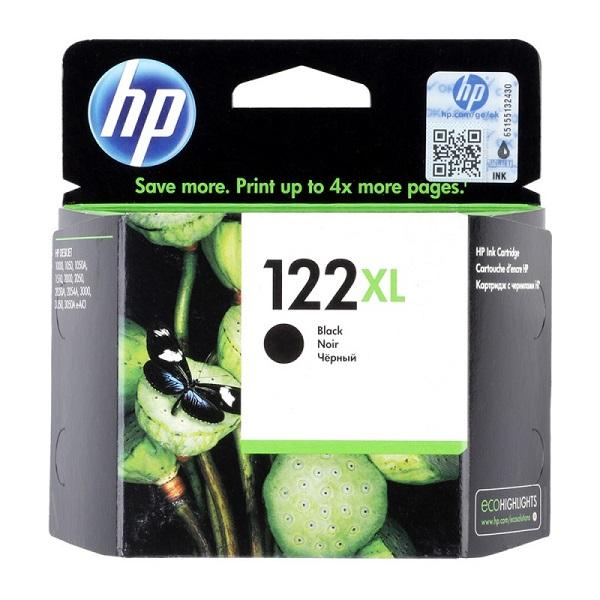 INK CARTRIDGE HP 122 BLACK--CH561HK
