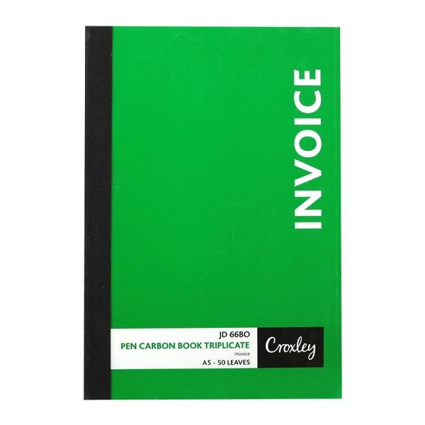 BOOK P/C INVOICE TRIP A5 JD66BO