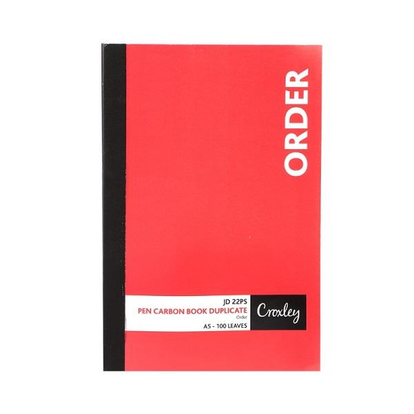BOOK P/C ORDER A5 DUPLICATE JD22PS