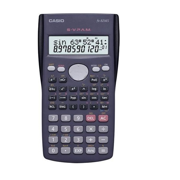 CALCULATOR CASIO FX-82MS-SC3-DH SCIENTIFIC