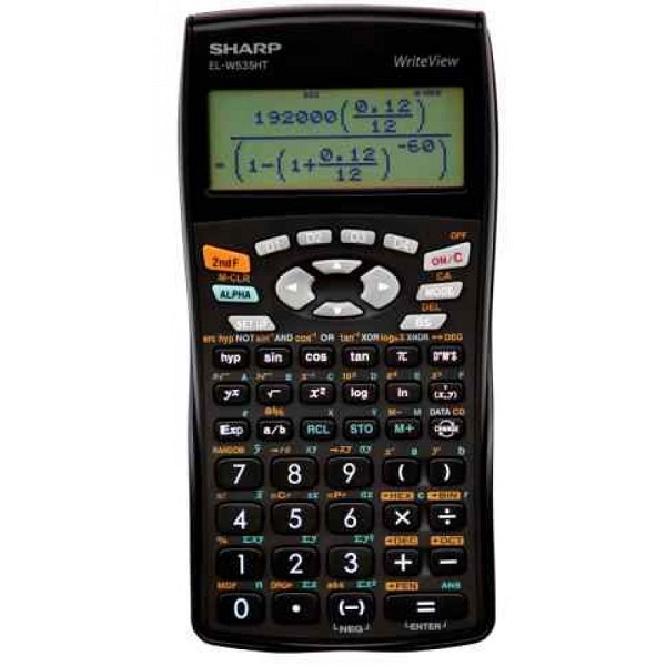CALCULATOR SHARP EL 531WHB-B SCIENTIFIC