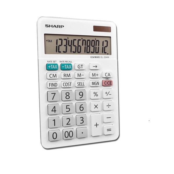 CALCULATOR SHARP EL-334WB 12DIGITS