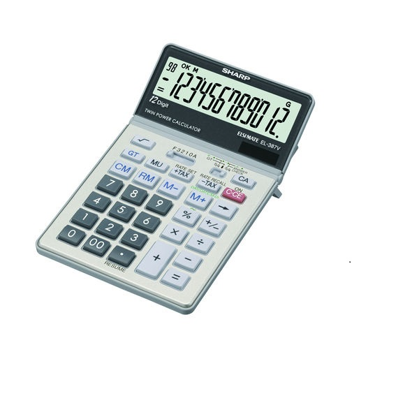 CALCULATOR SHARP EL-387V