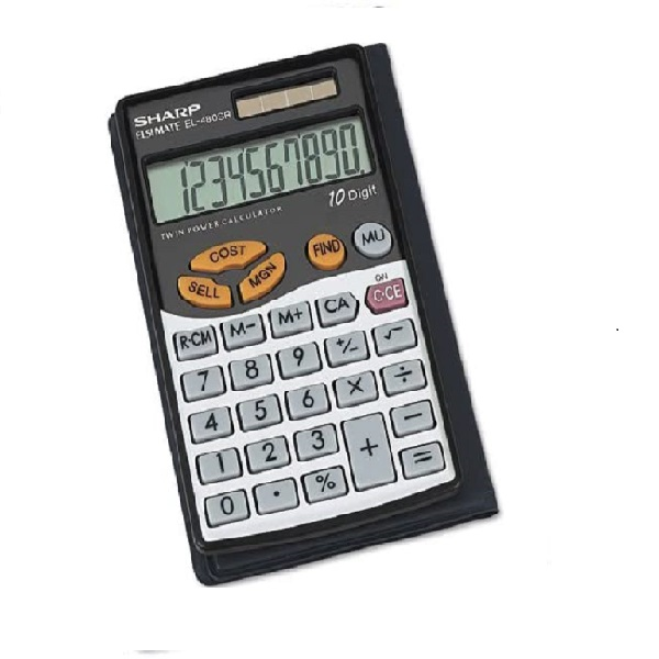 CALCULATOR SHARP EL-480SRB