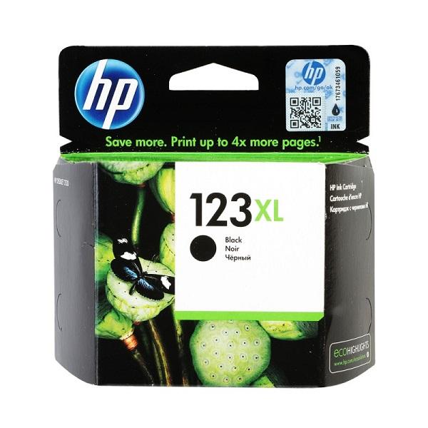 INK CARTRIDGE HP 123 BLACK: F6V17AE