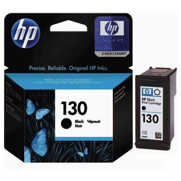 INK CARTRIDGE HP 130 BLACK: C8767HE