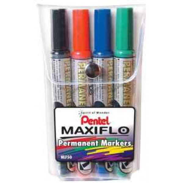 MARKER PERM MAXIFLO 4PCS WALLET-NLF50-4