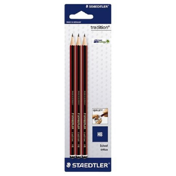 PENCIL HB STAEDTLER PACK OF 3  ( 2 SETS)