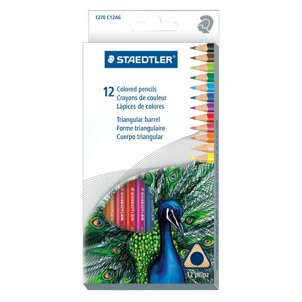 COLOURED PENCIL STAEDTLER 12PC