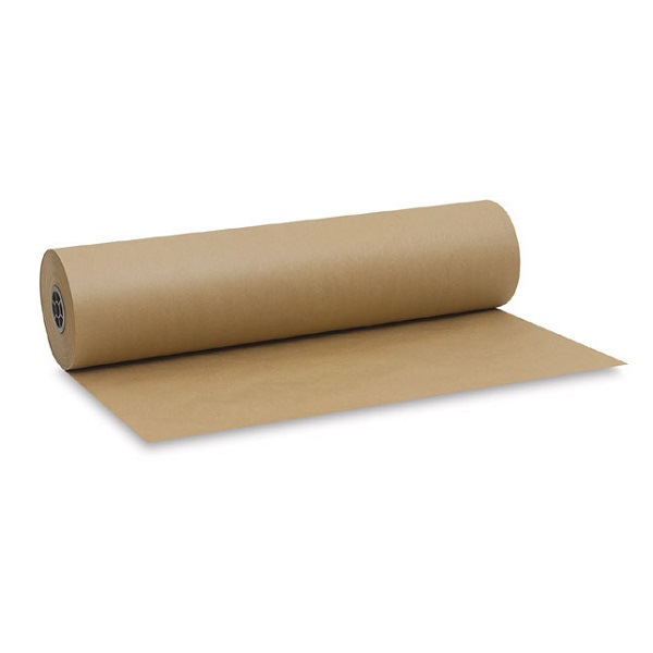 PAPER BOOK COVER BROWN BOO5800 480*2M KRAFT ROLL