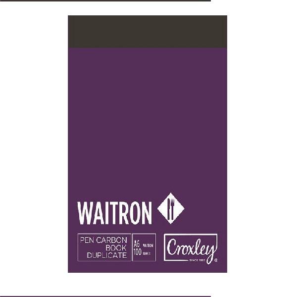 BOOK P/C WAITRON DUP A6 JD16W