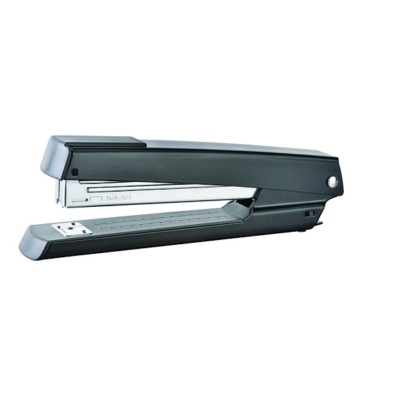 STAPLER FULL STRIP KANGARO METAL DS-425-BLACK