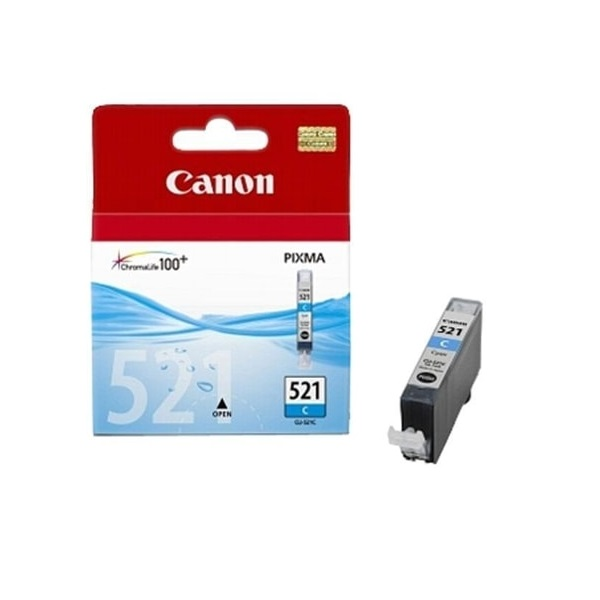 INK CARTRIDGE CANON CLI-521 CYAN