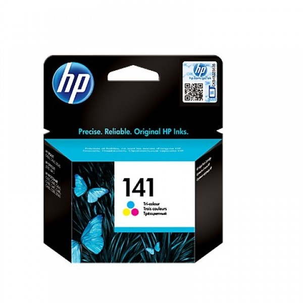 INK CARTRIDGE HP 141 TRI COLOUR CB337HE