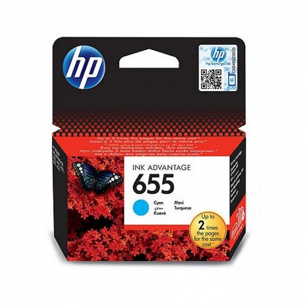 INK CARTRIDGE HP 655 CYAN