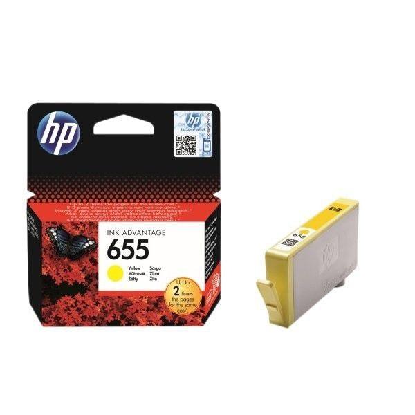 INK CARTRIDGE HP 655 YELLOW