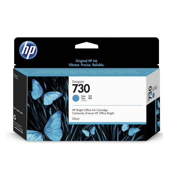 INK CARTRIDGE HP 730 CYAN 130ML