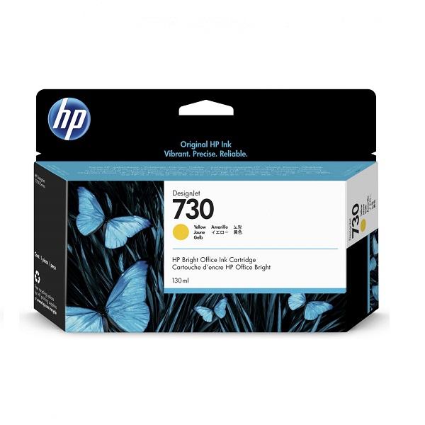 INK CARTRIDGE HP 730 YELLOW 130ML
