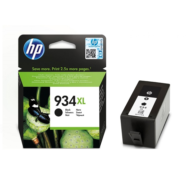 INK CARTRIDGE HP 934XL BLK: HPC2P23AE