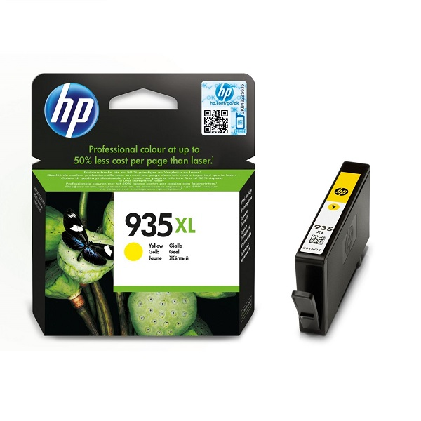 INK CARTRIDGE HP 935XL YELLOW: CNHPC2P26AE