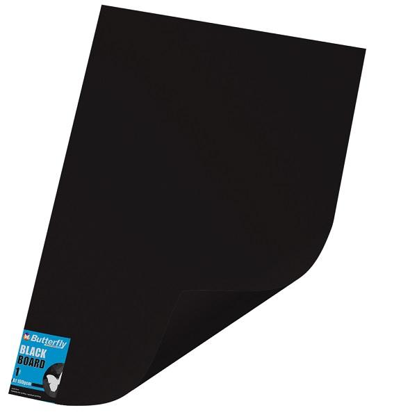 PAPER BOARD A1 BRIGHT BLK BRD234 160GSM B/FLY-WRAP