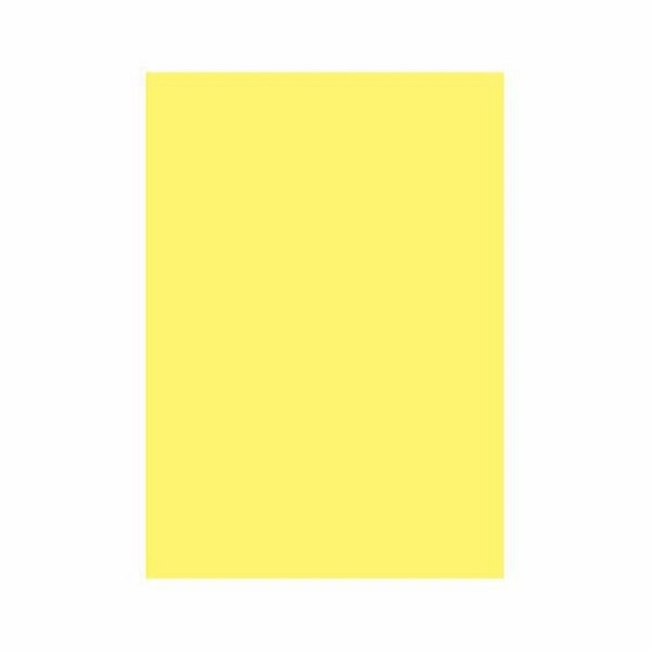 PAPER BOARD A1 BRIGHT YELLOW BRD234 160GSM WRAPPED