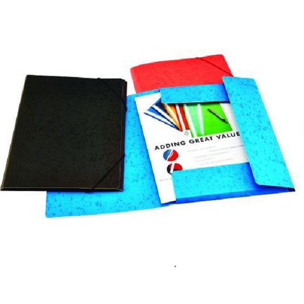 DOCUMENT WALLET BANTEX A4 ELASTIC ASS B34360