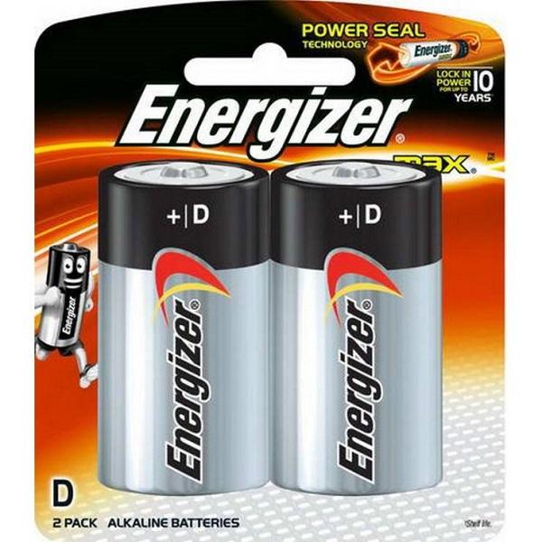 BATTERY ENERGIZER MAX D: E95BP2
