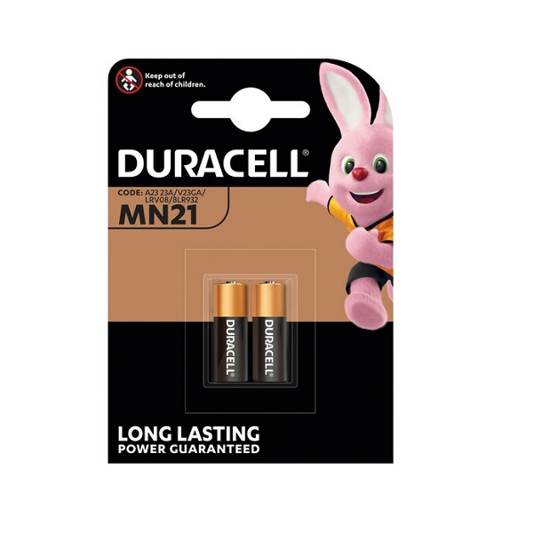 BATTERIES DURACELL PLUS 12v REMOTE PACK 2