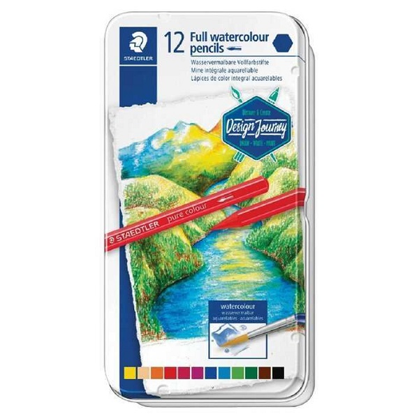 AQUARELL COLOUR PENCIL STAEDTLER 12'S -14610