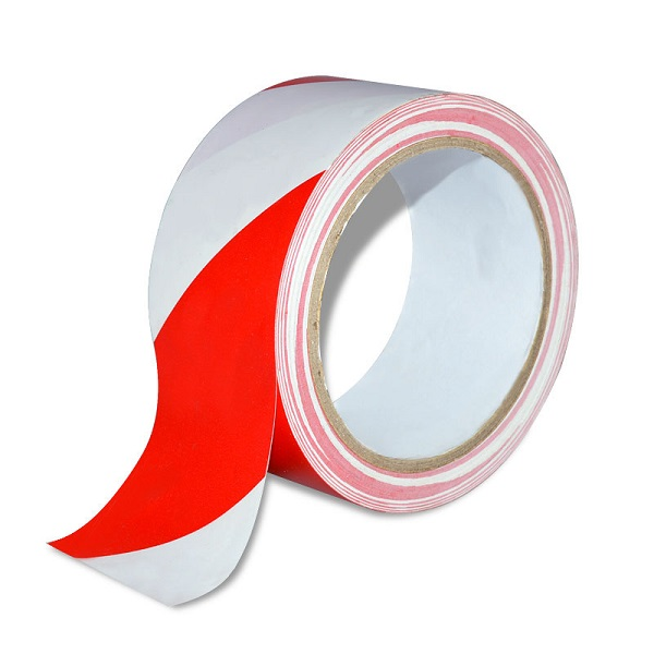 TAPE BARRIER 75*100M RED/WHITE