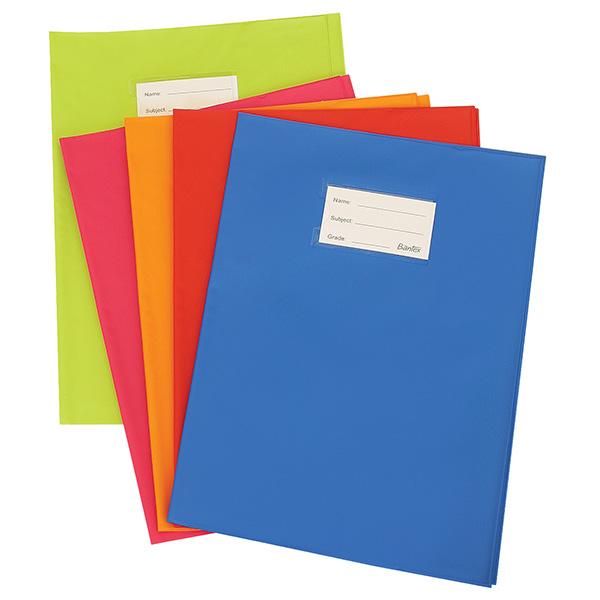 BOOK COVER A4 PP ADJUST PKT 5 -B3098-08 B309800008